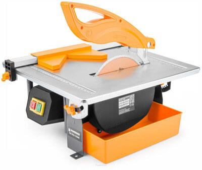 przecinarka stołowa - glazura i klinkier